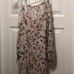 American Eagle Brand cap sleeve floral dress